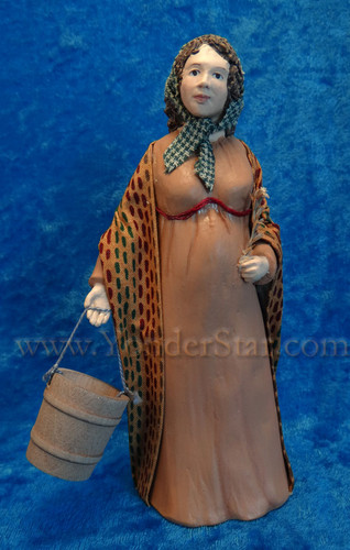 Isabel  - Hestia Companions Nativity Milk Maid - Retired in 2015