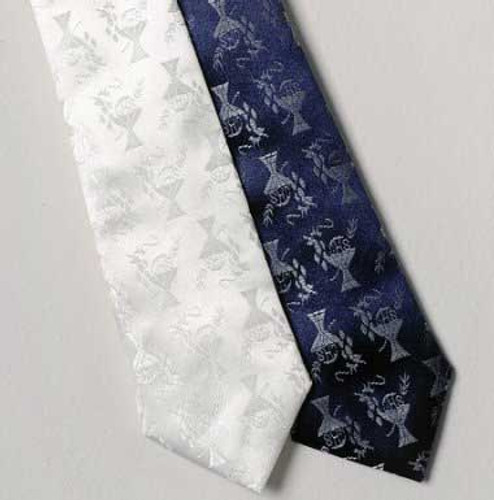 First Holy Communion Necktie Navy Blue