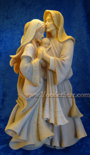 "12"" Holy Family Foundations Nativity Collection"