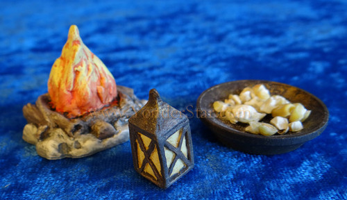 Lantern Bowl Campfire Companions Nativity