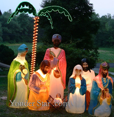 Life Size Outdoor Nativity Scene