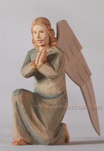 Angel Kneeling - Huggler Nativity Switzerland