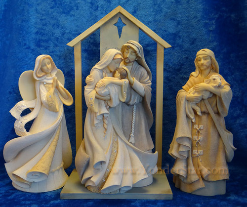 Glad Tidings Foundations Nativity Set