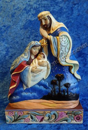 """10"""" Holy Family Nativity by Jim Shore"""