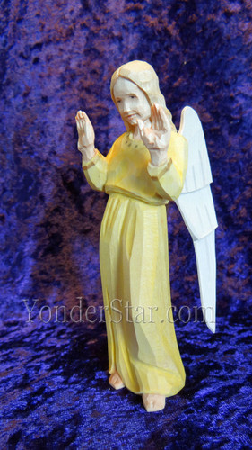 Angel Standing - Huggler Wooden Nativity