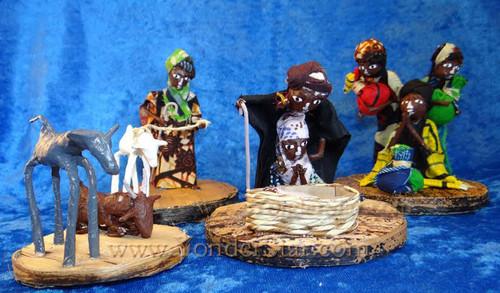 Ugandan Nativity Set - Fair Trade from Uganda