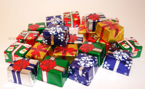 5 Pound Box of Foil Wrapped Chocolates