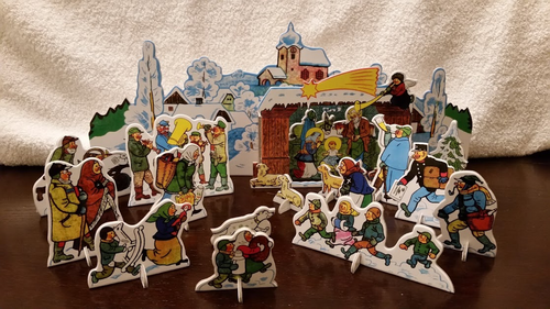Josef Lada Nativity from the Czech Republic
