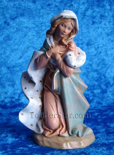 """Mary - 7.5"""" Fontanini Nativity Mary Kneeling 72812"""