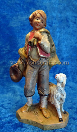 "Lucas - 5"" Fontanini Nativity Shepherd Boy 54074"