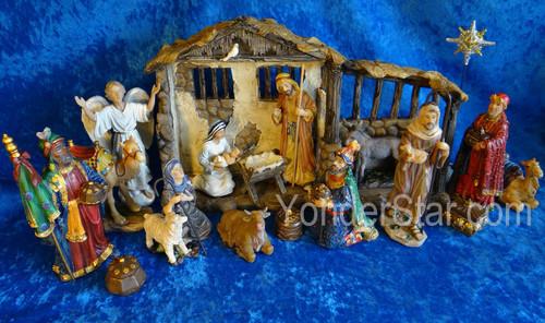 "The Real Life Nativity 7"" scale Nativity Scene"