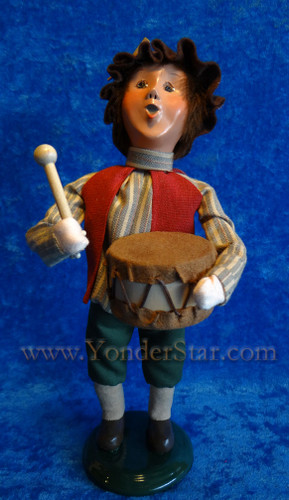 Byers Choice Carolers Nativity Drummer Boy