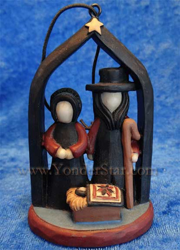 Amish nativity set.