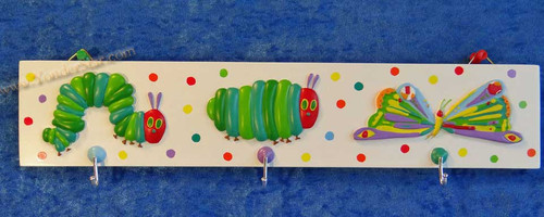 """The Very Hungry Caterpillar 15"""" Wall Hook"""