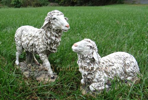 "Sheep for 27""Joseph's Studio Outdoor Nativity Scene - Set of 2"