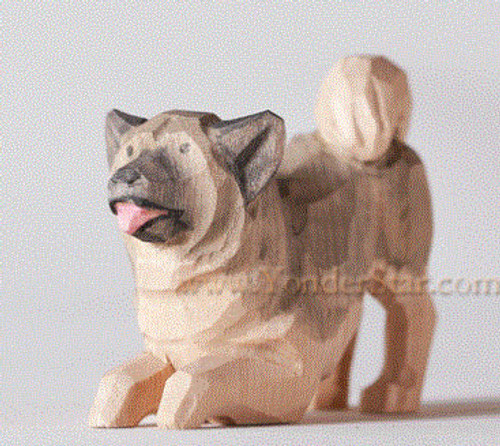 Shepherd Dog Playing - Huggler Christnacht Nativity