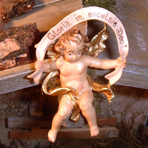 Nazarene Gloria Angel for LEPI Nazarene Wooden Nativity
