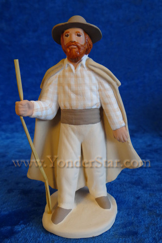 Berger - Santons French Nativity Collection - Shepherd with Staff