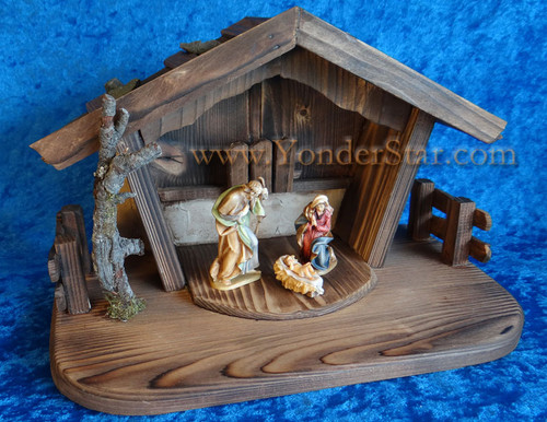 Reindl Nativity Set LEPI Wooden Nativity
