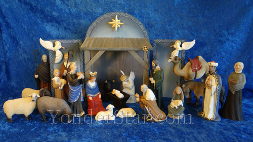 Norwegian Nativity Scene Henning