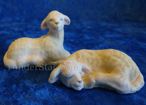 Lambs for Norwegian Nativity Henning