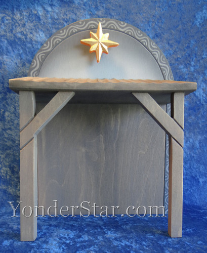 Wooden Stable for Henning Norwegian Nativity