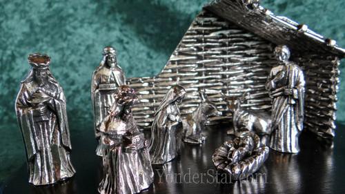 pewter nativity ireland