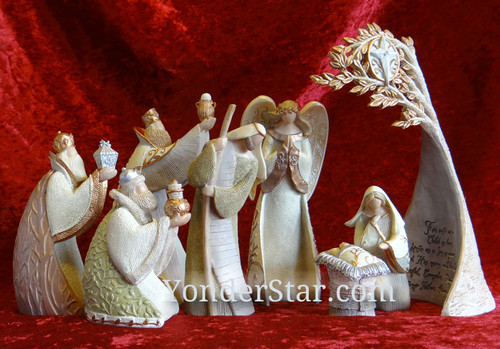 Legacy of love nativity set.
