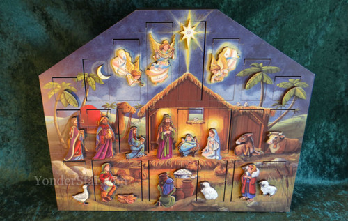 Musical Nativity Advent Calendar - Leaves Warehouse in 1 Business Day*