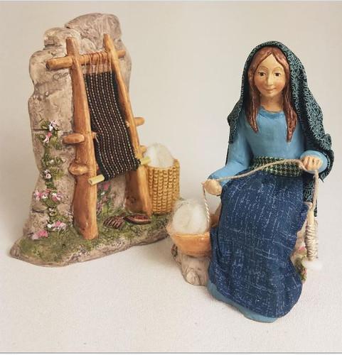 Weaving Scene - Hestia Companions Nativity