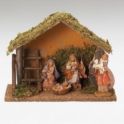 "Fontanini Nativity Set w5"" Figures 4-pc - 54423"