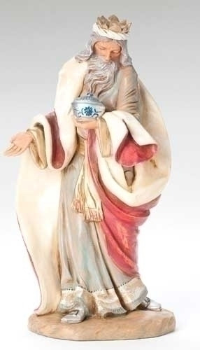 "Melchior - 18"" Fontanini Nativity Wiseman 53714"
