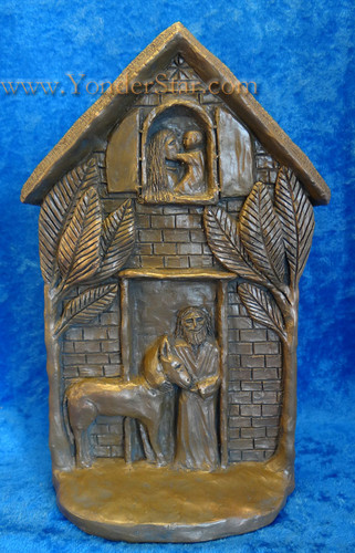 Stone Nativity Sculpture Made in USA