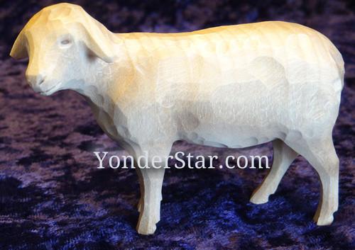 Sheep - Huggler Swiss Nativity White Sheep