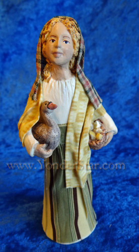 Maya - Hestia Companions Nativity Goose Girl - Retired in 2012