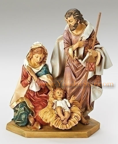 "Holy Family 27"" Fontanini Nativity Made in Italy"