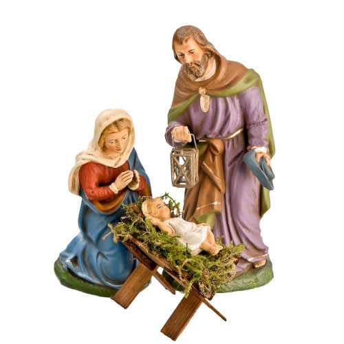Holy Family 12 cm Marolin Nativity Germany : Pre-Order