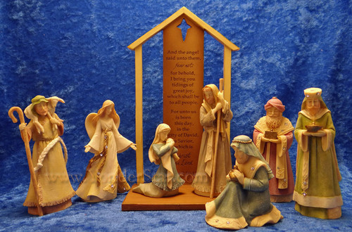 Tidings of Great Joy Nativity by Karen Hahn Foundations