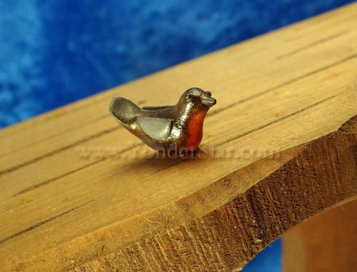 Kastlunger Bullfinch for LEPI Kastlunger Wooden Nativity