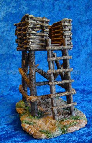 "Watchtower - 5"" Fontanini Nativity Village Tower 55583"