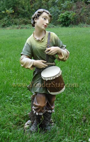 "Drummer Boy - Joseph's Studio 27"" Nativity Scene"