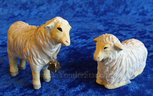 Sheep - Hestia Companions Nativity Set of 2 Sheep