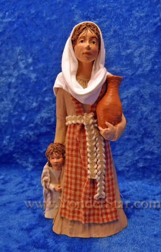 Rebekeh - Hestia Companions Nativity Woman with Child