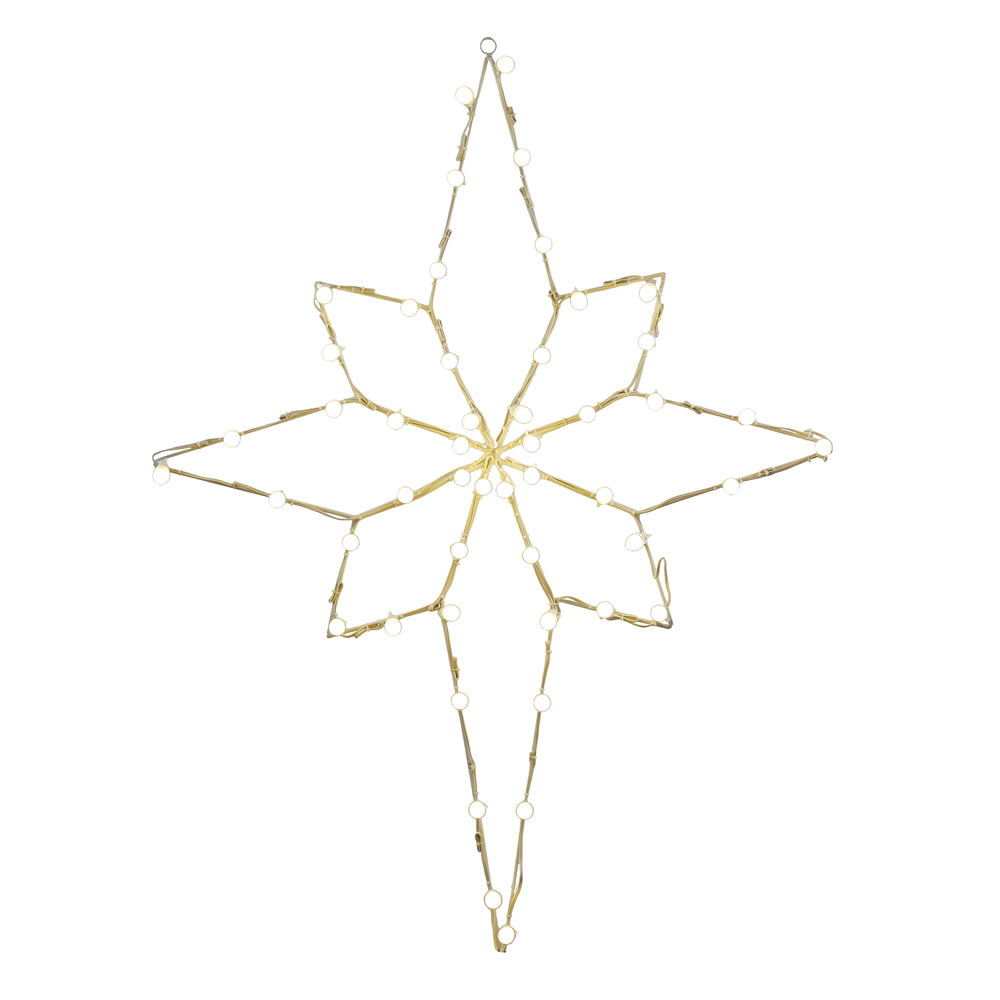 Star of bethlehem outdoor christmas decoration - 48 Giant Outdoor Lighted Star Of Bethlehem