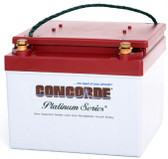 CONCORDE RG-24-15 PLATINUM SERIES SEALED AIRCRAFT BATTERY