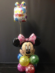A2  Birthday Cluster - Minnie Mouse