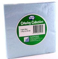Light Blue Luncheon Napkins - Pkt 50