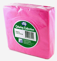 Hot Pink Luncheon Napkins - Pkt 50