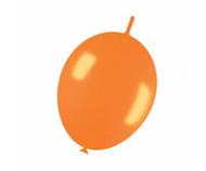 30cm Link-O-Loon - Metallic Orange