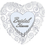 Bridal Shower - 43cm Flat Foil